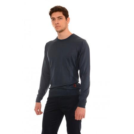 Мъжки памучен пуловер B8705, Силует М