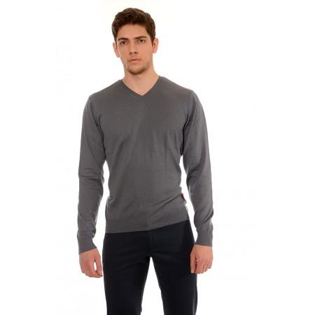 Мъжки памучен пуловер B8640, Силует М