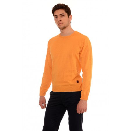 Мъжки памучен пуловер B8007, Силует М