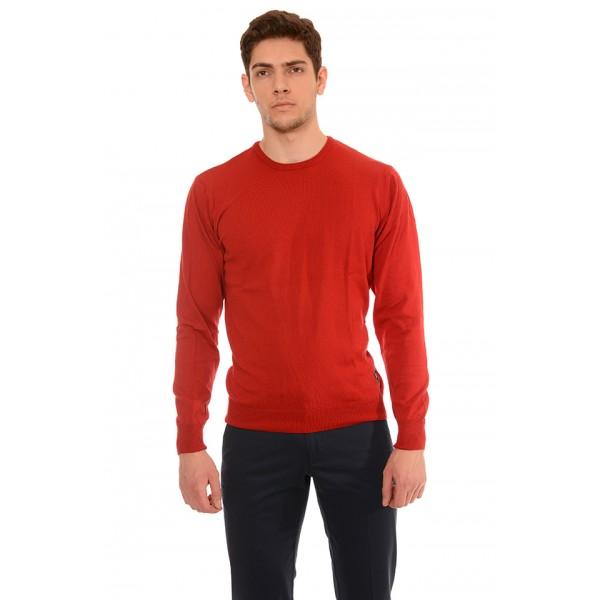 Мъжки памучен пуловер B8319, Силует М
