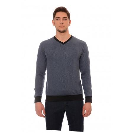 Мъжка  блуза 7044, Силует - М