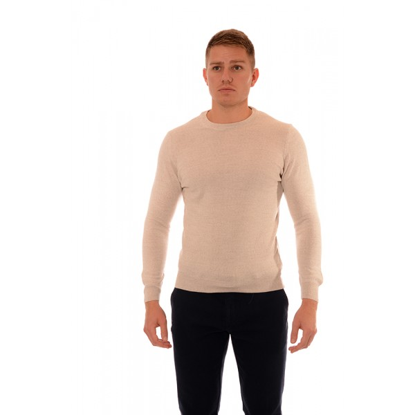 Men's woolen sweater BS 1003, Siluet M