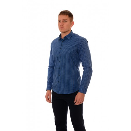 Men's Shirt 19207, Siluet M