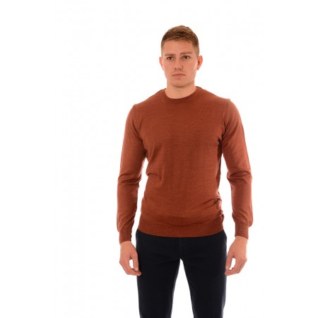 Men's woolen sweater BS 1009, Siluet M