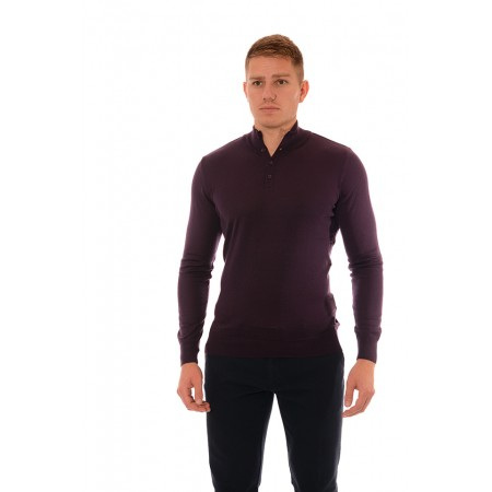Men's woolen sweater BS 1061, Siluet M