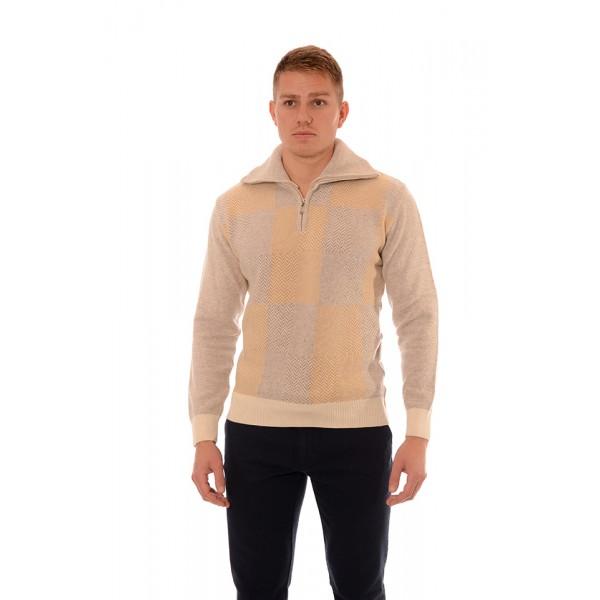 Мъжки вълнен пуловер BV 2080, Силует М