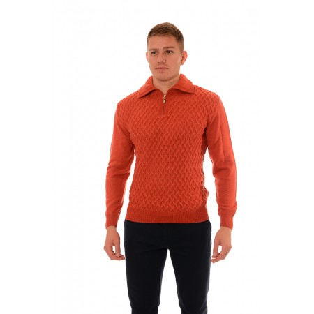 Men's woolen sweater BV 2071, Siluet M