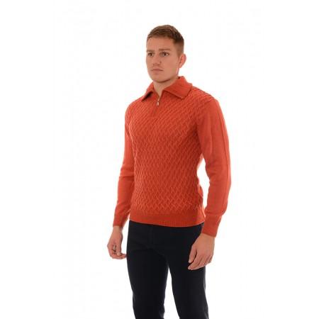 Мъжки вълнен пуловер BV 2071, Силует М