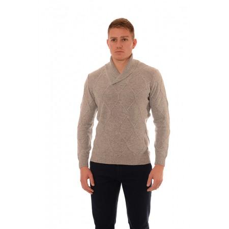 Мъжки вълнен пуловер BV 2091, Силует М