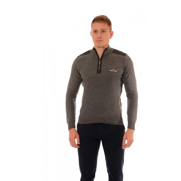 Мъжки вълнен пуловер BS 1022, Силует М