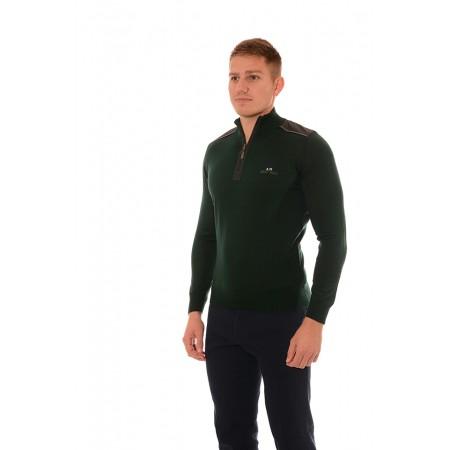 Мъжки вълнен пуловер BS 1021, Силует М