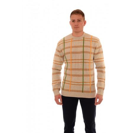 Мъжки вълнен пуловер BV 2074, Силует М