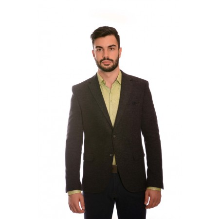 Men's wool sports jacket 1635 - 18, Siluet M