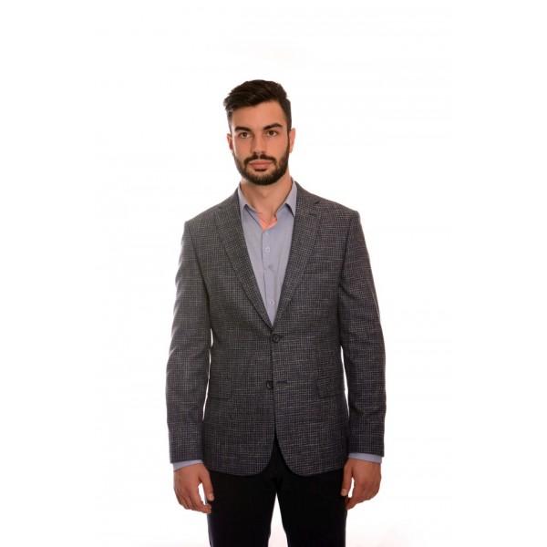 Men's wool sports jacket BB 0214, Siluet M