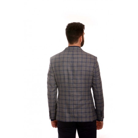 Men's wool sports jacket BLT 208, Siluet M