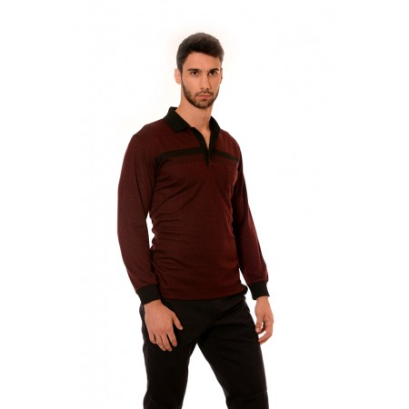 Men's Blouse 7040, Siluet - M