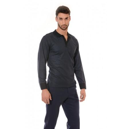 Мъжка блуза 7020, Силует - М