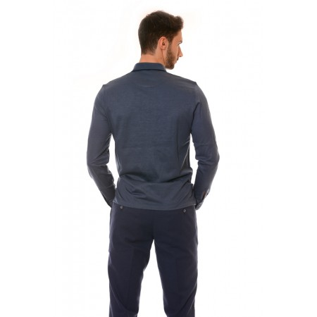 Мъжка блуза 124, Силует - М