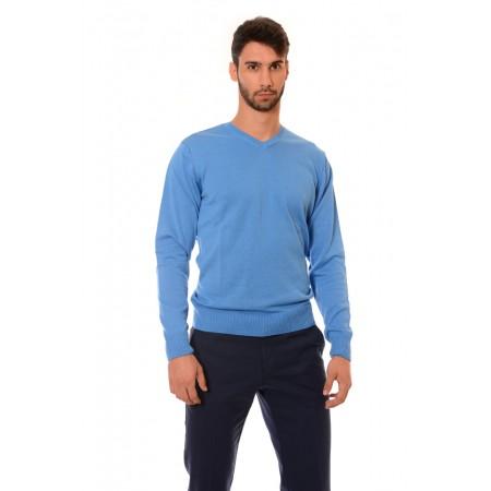 Мъжки памучен пуловер 2347, Силует - М