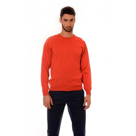 Мъжки памучен пуловер 1309, Силует - М
