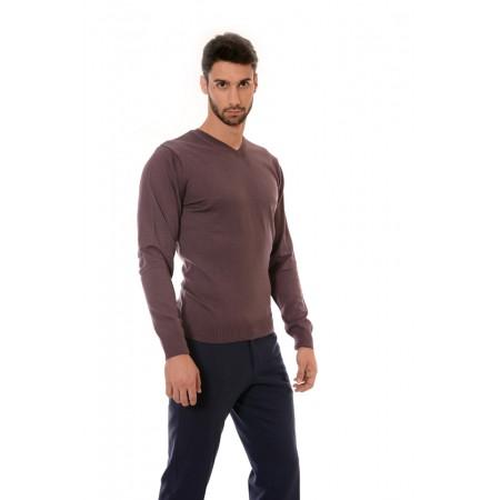 Мъжки памучен пуловер 2306, Силует - М