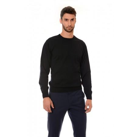 Мъжки памучен пуловер 1329, Силует - М