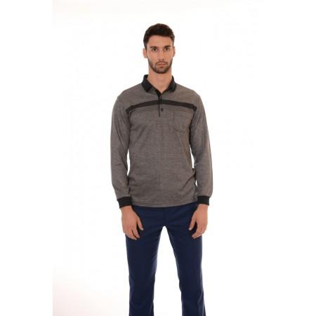 Мъжка блуза 7030, Силует - М