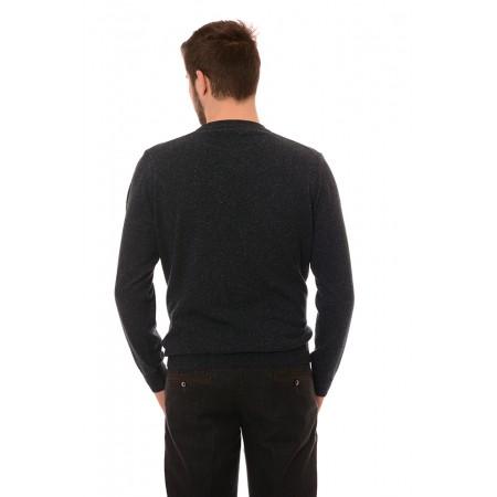 Мъжки вълнен пуловер 7119, Силует М