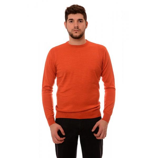 Мъжки вълнен пуловер 7135, Силует М