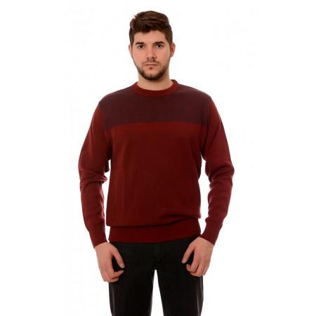 Мъжки вълнен пуловер 7611, Силует М