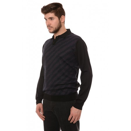 Мъжки вълнен пуловер 190, Силует М