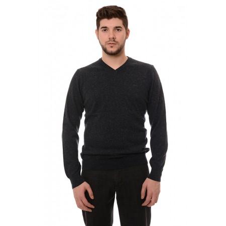 Мъжки вълнен пуловер 7120, Силует М