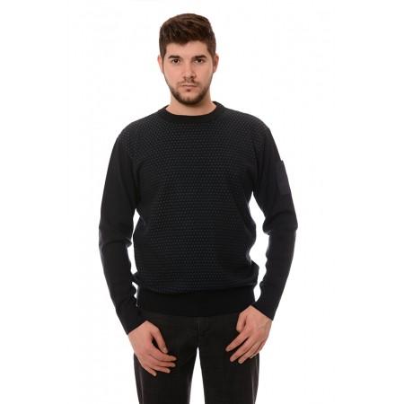 Мъжки вълнен пуловер 7612, Силует М