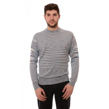 Мъжки вълнен пуловер 7810, Силует М