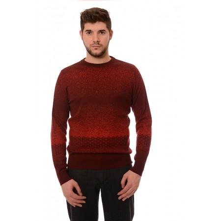 Мъжки вълнен пуловер 178, Силует М