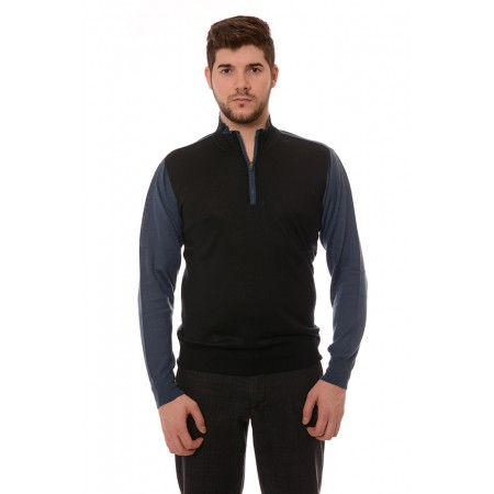 Мъжки вълнен пуловер 7701, Силует М