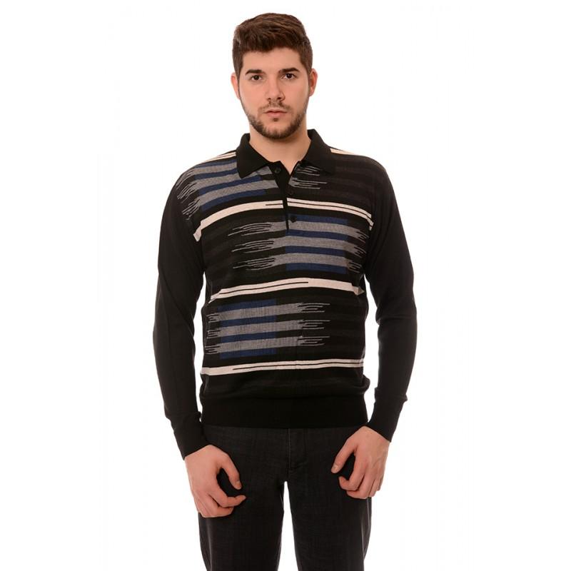 17a772498ba Мъжки вълнен пуловер 7353, Силует М