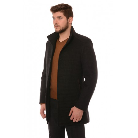 Мъжко палто 11798, Силует М