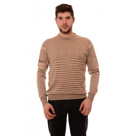 Мъжки вълнен пуловер 7808, Силует М