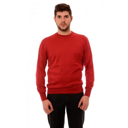 Мъжки вълнен пуловер 7130, Силует М