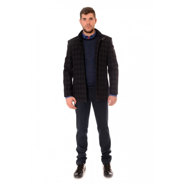 Men's  coat 1014, Siluet M